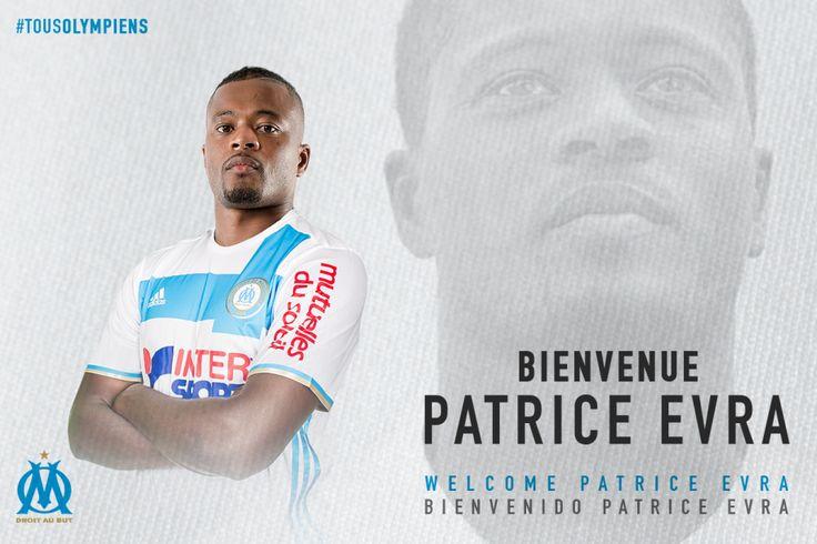 Mercato OM : C'est officiel pour Patrice Evra à l'OM - http://www.europafoot.com/mercato-om-cest-officiel-patrice-evra-a-lom/