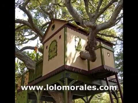 17 mejores ideas sobre casa del rbol de ni os en - Casas en arboles para ninos ...