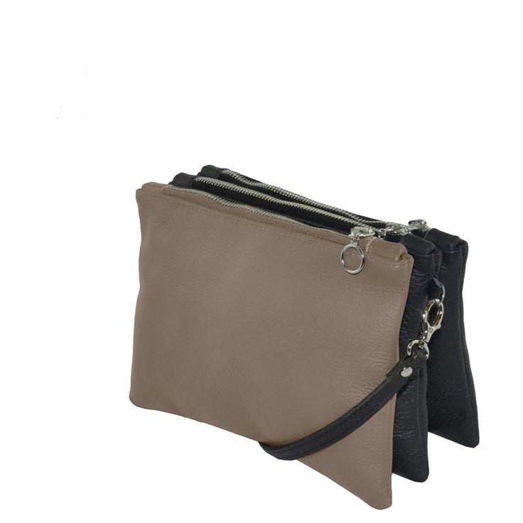 FUN BAG #ecofashion #fairfashion #designerfashion #springcollection #upcycling #fashion #taupeblack