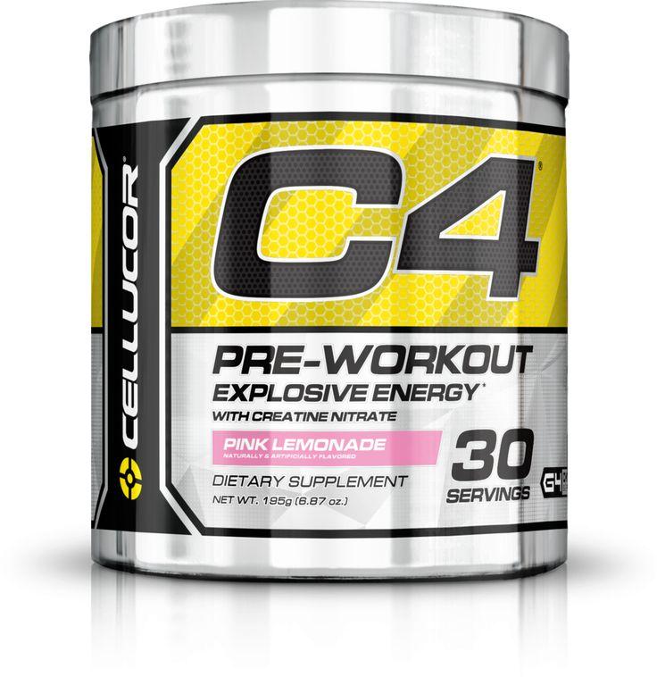 C4 PINK LEMONADE 30/SV Workout supplements, Workout