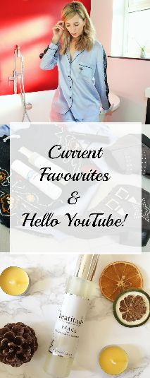 Chatting about some current favourites in my first ever video!