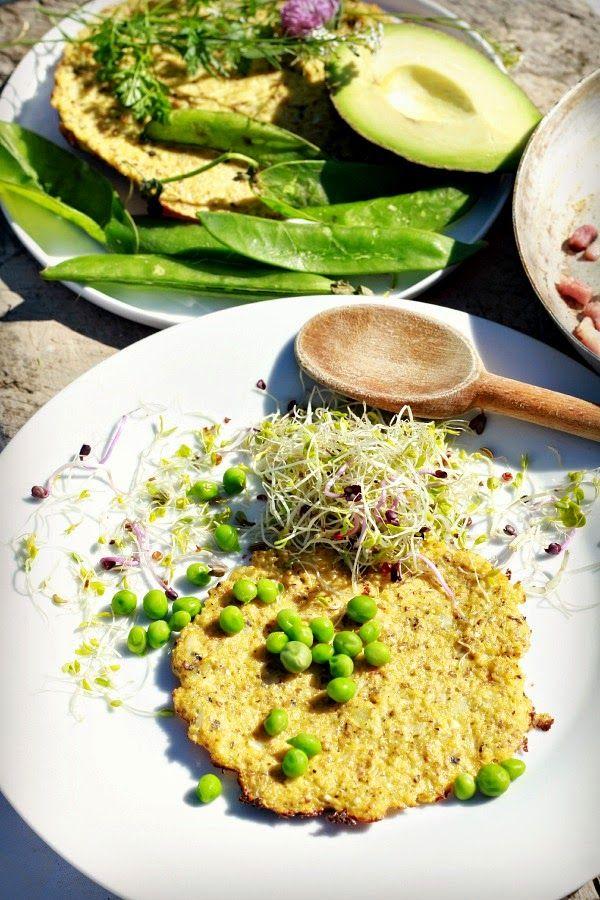 Les Cuisines de Garance: les Tortilla de chou fleur & des portes se ferment , d'autres s'ouvrent sur le bonheur....