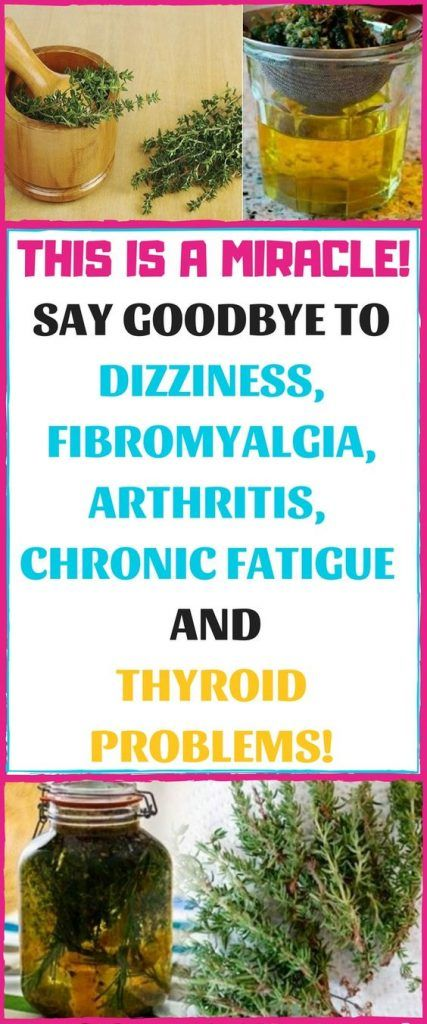 THIS IS A MIRACLE! SAY GOODBYE TO DIZZINESS, FIBRO…