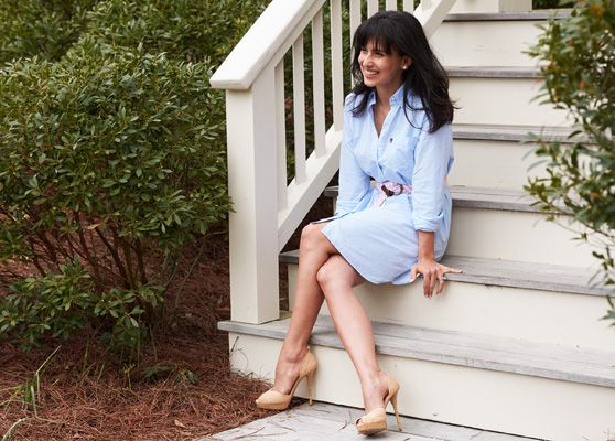Interview with Hilaria Baldwin - Lexington Hamptonite Collection - a collaboration with Hilaria Baldwin to benefit Guild Hall