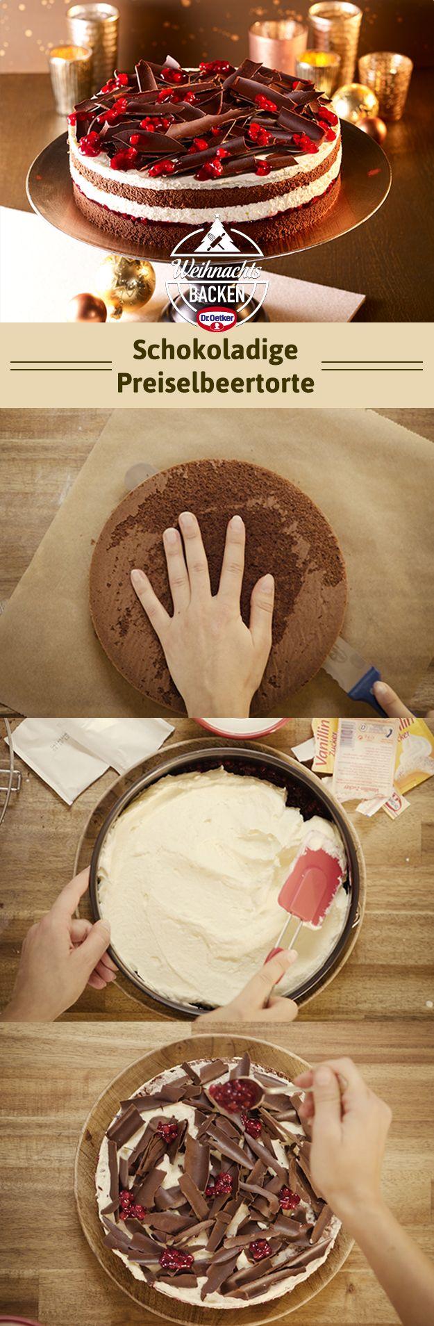 Ein wunderbar sahnige Torte für die Adventssonntage und das Weihnachtsfest