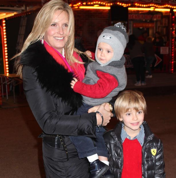 Penny Lancaster and Rod Stewart make their boys do chores 'to ...