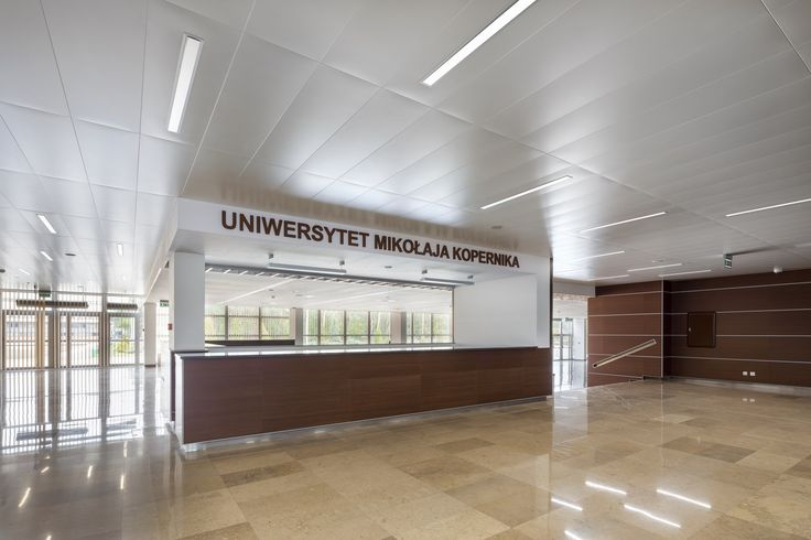 Uniwersytet im.Mikołaja Kopernika, Armstrong Sufity Podwieszane, ceiling, sufit akustyczny, acoustic, szkolnictwo