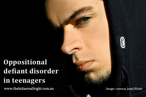 Oppositional defiant disorder in teenagers | www.thekidsareallright.com.au | #ODD #ADHD #teenagers