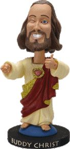 Buddy Christ Bobble Head by VixenGypsy