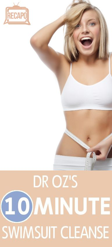 Dr Oz's Swimsuit Cleanse show gave diet tips to lose 2 pounds while you sleep. Must try this ASAP for swimsuit season!