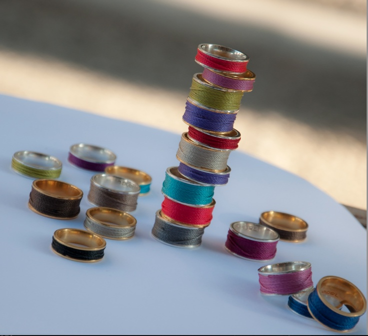 Rings with Thread © Papel