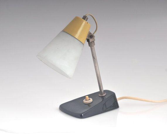 Modernist of Mid century desk lamp, Mid Century Modern Vintage Atomic Lighting Eames Lamp 1950s Retro Living