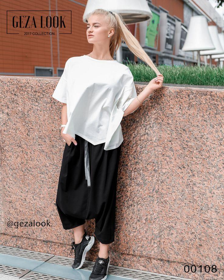 Представляем вам потрясающий образ в стиле хип-хоп🔥 Супер свободный образ: легкая белая рубашка безумно приятная на ощупь, свободные укороченные черные штаны😍 Прекрасное сочетание удобства и стиля👍Смотрите больше фото в сторис😘 Штаны • Размер: one-size • Цена: 5400р Кофта • Размер: one-size • Цена: 4200р : Рост модели 161 см : ----------------------------------- 👉С вопросами и по заказу 👇 📲пишите в WatsApp +7 (963) 661-29-64 ----------------------------------- 📦 Доставка по Москве в…