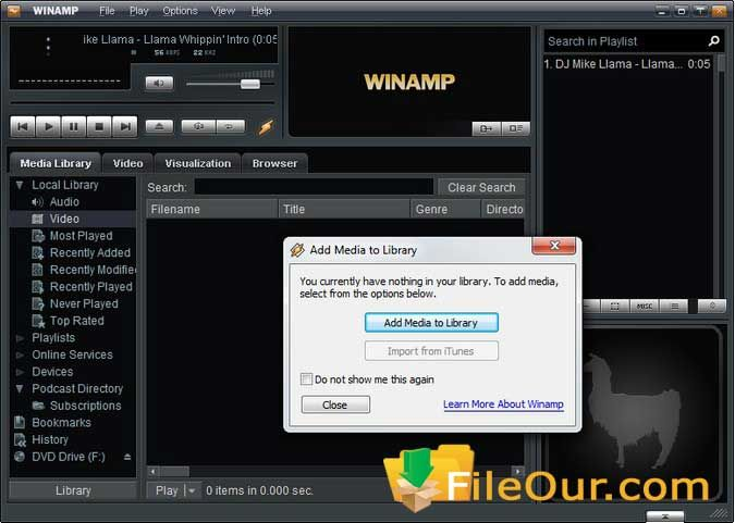 Winamp Player 2020 Offline Installer Download For Windows Pc