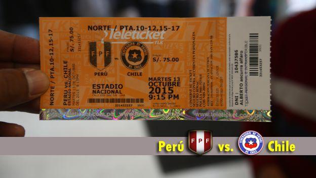 Una buena noticia para los hinchas. La Policía Nacional decidió dejar ingresar a todos los hinchas que tengan sus entradas al duelo entre Perú y Chile. Para ingresar al Estadio Nacional esta vez no será necesario que el número del DNI coincida con el que aparece en la entrada. Octubre 13, 2015.