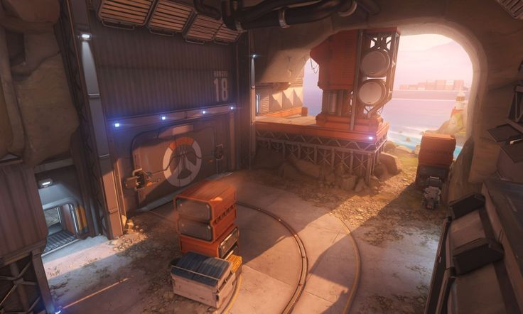overwatch environment art - Google Search