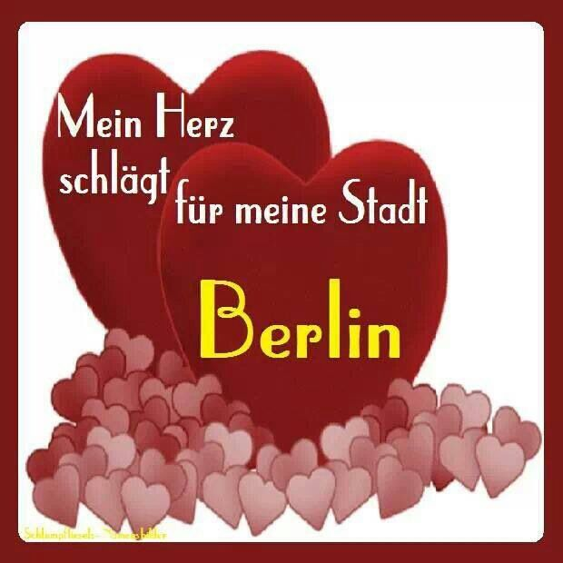 ღღ Für immer!!! ~~~~ My heat is beating for my City Berlin .... Always will! ❤️❤️❤️