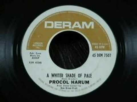 ▶ Procol Harum - A Whiter Shade Of Pale - 1967 (Tom Moulton's Sync Stereo Mix) - YouTube