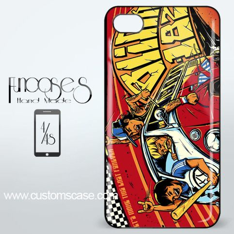 Blink 182 Van VW iPhone 4 or 4S Case Cover from Funcases