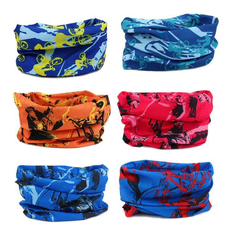 Headwear - 6PCS Scarf Bandanna Headband Yoga Sports Headband,Head Wrap,Balaclava Multifunctional Stretchable Sport Face Mask (6Sports series)