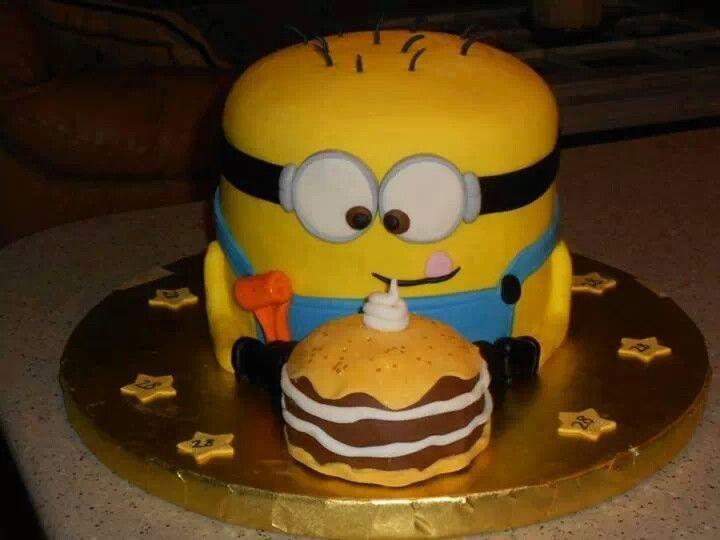 Minion cake birthday party ideas Pinterest