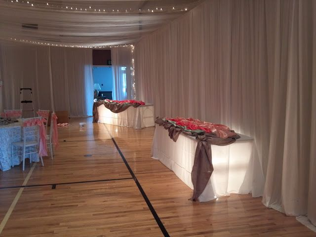 How To Dress Up A Gym For Wedding Reception Wedding