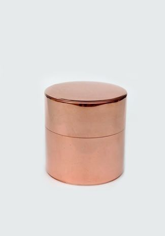bronze metallic containers / Vuela