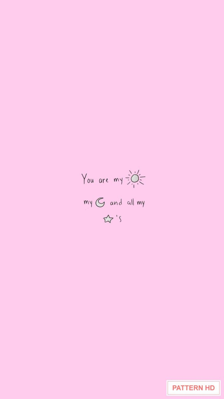 Pin By Zainab On Pink Pastel Quotes Plain Wallpaper Aesthetic