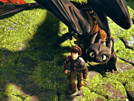 Hiccup and Toothless. trailer 3.