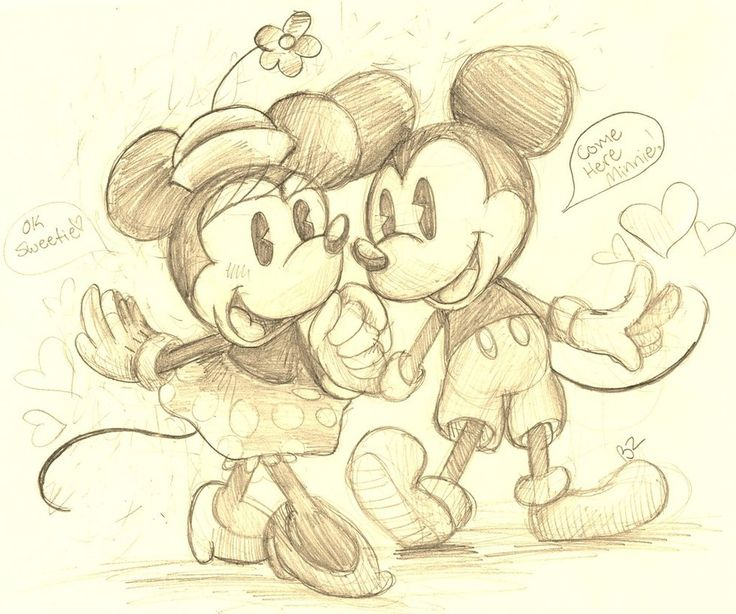 28 best Mickey mouse en Minnie mouse tekenen  images on