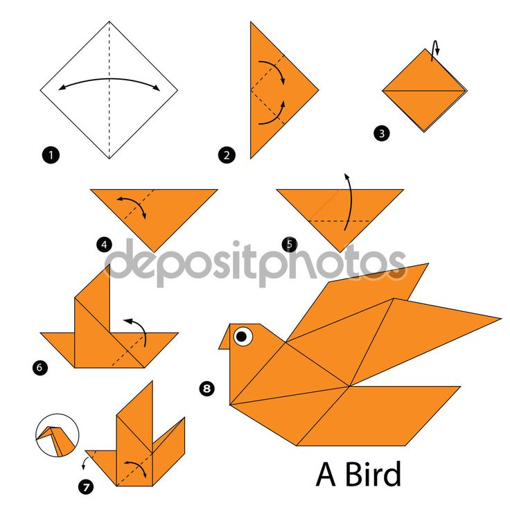 how to make a swallow bird