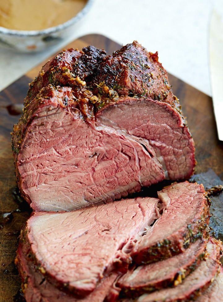 how to cook top sirloin roast beef in oven