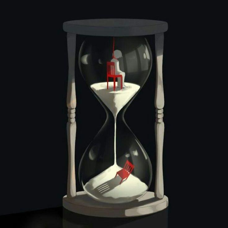 Le temps qui passe.  Avogado6