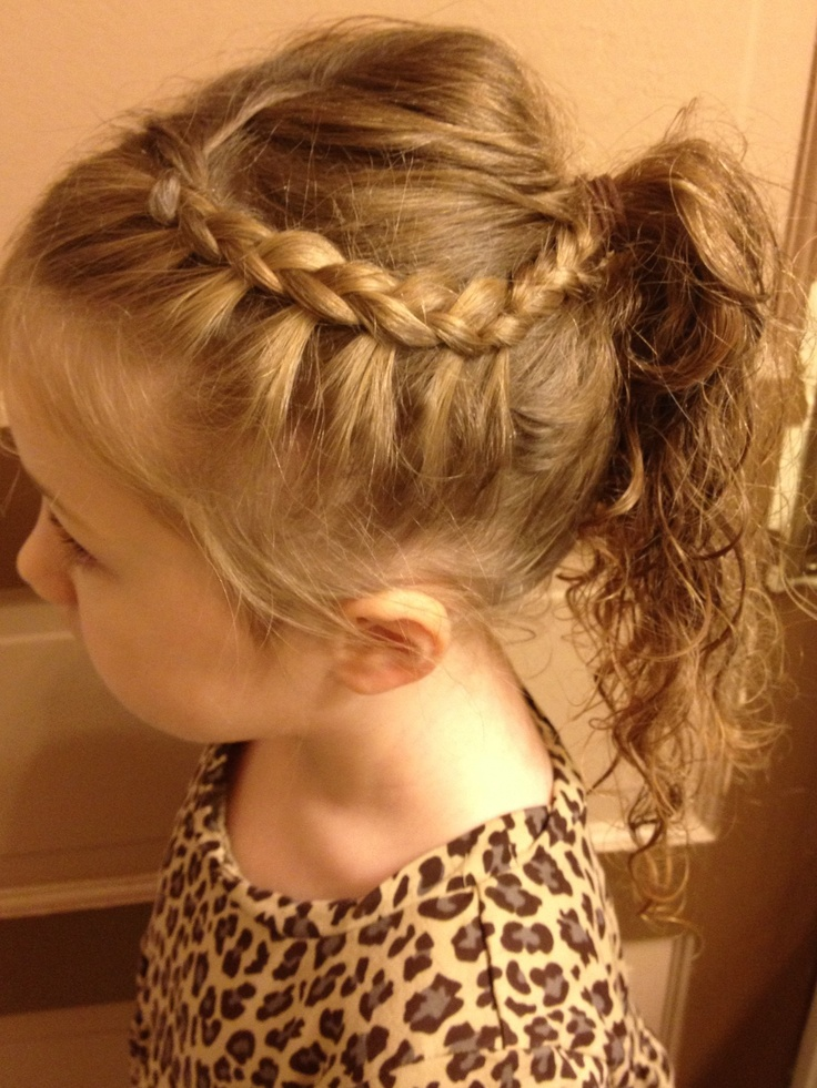 Great hair style for school!