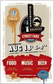 Street Fare | Deschutes Brewery, August 18