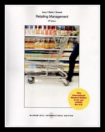 Retailing Management 9th edition