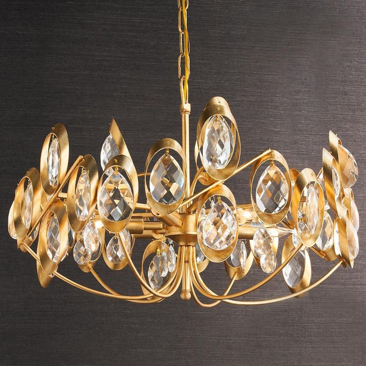 168 best Light Fixtures images on Pinterest | Crystal chandeliers ...
