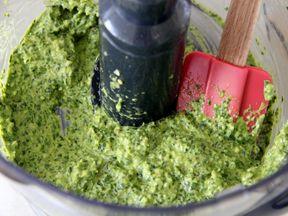 Swiss Chard Pesto Recipe - Momtastic