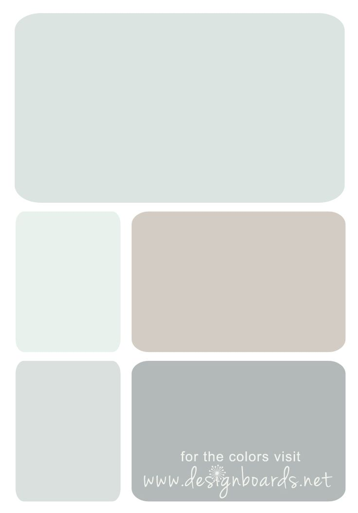 Pittsburg Paint colors: Newport Mist, Swan Sea, Whiskers, Dusty Miller, Steel City
