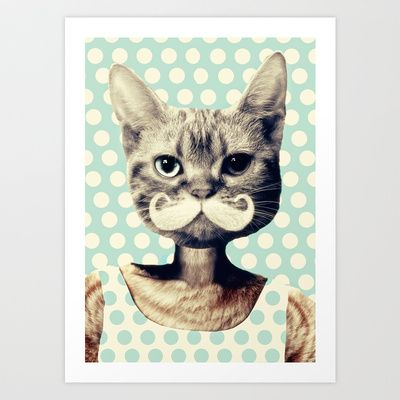 Kitten Art Print by zumzzet - $19.00