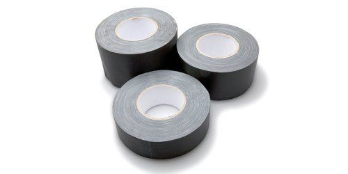 """Hosa 3"""" Gaffers Tape by Hosa. $17.99. Hosa Gaffer's Tape is a real stage tape not to be confused with Duct Tape!  Gaffer's tape is made with a fine cloth weave that leaves little to no adhesive residue behind once it's removed. Duct Tape, on the other hand, leaves that sticky, gummy, residue. Hosa now offers musicians and stage hands real Gaffer's tape - and best of all, it's black. 60 Yard Length.  This gaffer tape is perfect for a quick fix and works perfectly for w..."""