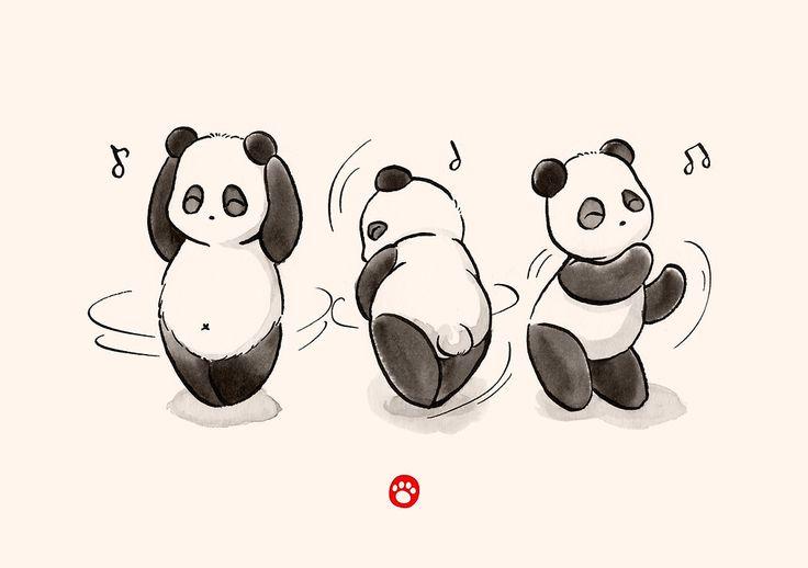 «Panda Food Dance» de Panda And Polar Bear