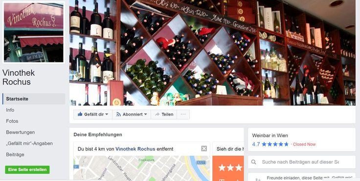 Vinothek Rochus am  Rochusmarkt Landstrasser Hauptstrasse Ecke Erdbergstrasse   https://www.facebook.com/Vinothek-Rochus-113577612050879/