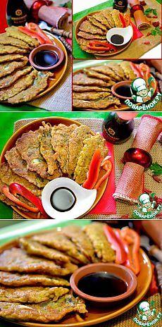 Чудо-кляр для рыбы - кулинарный рецепт       Рыба (Любая, мелкая или крупная без кости, филе. В данном рецепте - мойва.) — 500 г     Мука блинная — 3 ст. л.     Майонез — 1 ст. л.     Соевый соус (Киккоман) — 2 ст. л.     Чеснок — 3 зуб.     Петрушка — 1/2 пуч.     Аджика — 1 ст. л.     Куркума — 1 ч. л.     Яйцо куриное — 1 шт     Паприка сладкая — 1 ч. л.     Зира — 1 ч. л.
