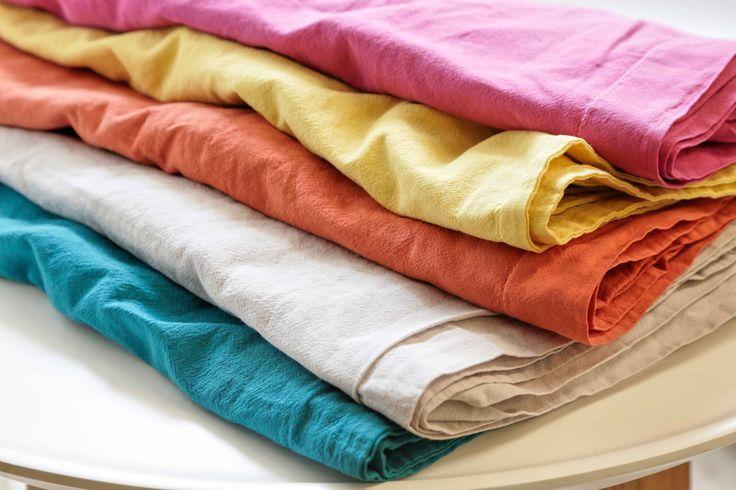 linge de lit en coton lav collection blancheporte linge de maison pinterest linge de. Black Bedroom Furniture Sets. Home Design Ideas