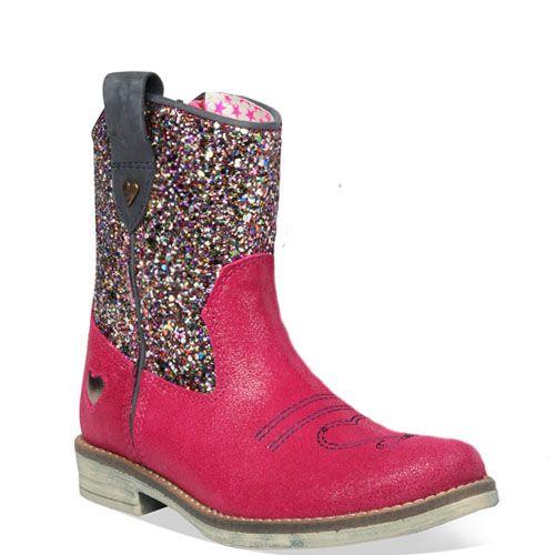 Mim-pi laarzen glitter schacht pink 1430