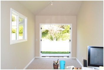 Convert Garage to OfficePERFECT for a piano studio Playroom