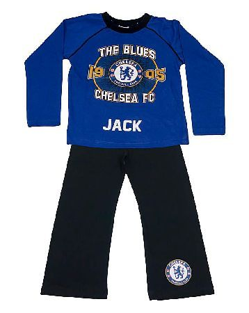 The Brilliant Gift Shop Personalised Childrens Chelsea FC Pjs Official Licensed personalised pyjamas. Can be personalised with up to 15 characters (including spaces and punctuation). http://www.MightGet.com/january-2017-13/the-brilliant-gift-shop-personalised-childrens-chelsea-fc-pjs.asp