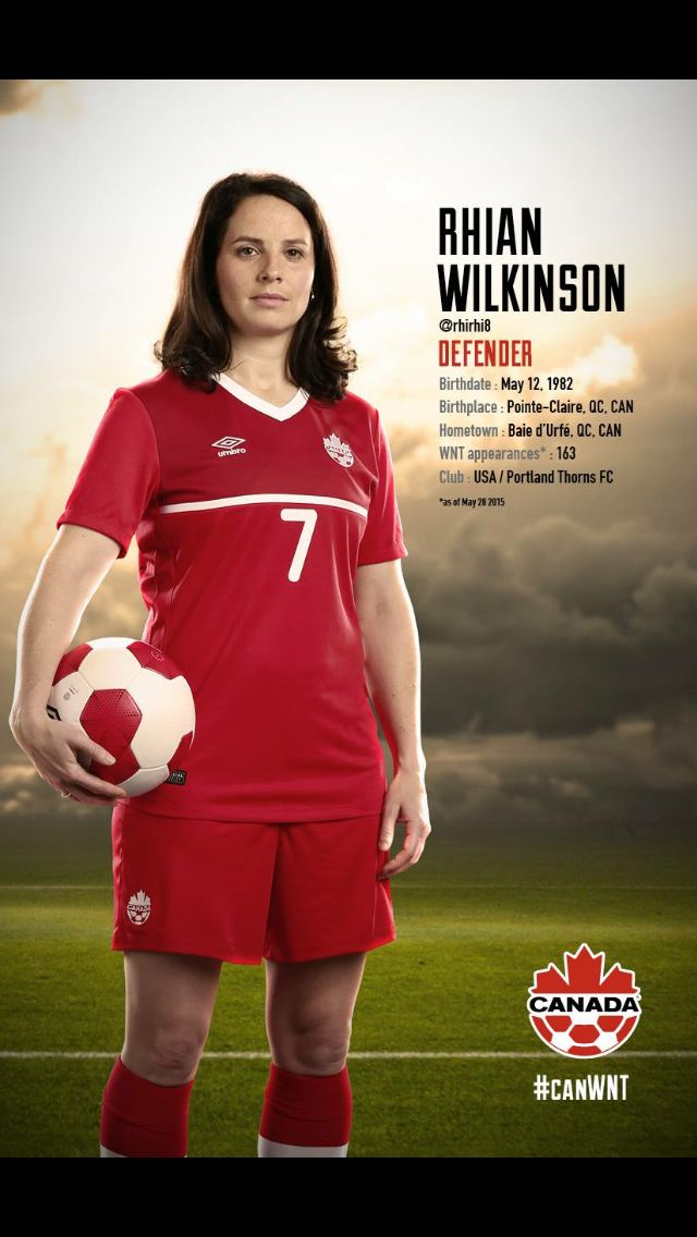 #CanWNT | #FIFAWWC | #CanadaRED | Rhian Wilkinson |