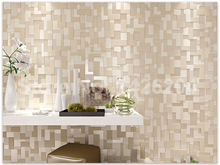 New fashion Modern mosaico 3D papéis de parede para sala de estar quarto cama, De rolo de papel de parede para paredes tapety, Papel de parede em Papéis de parede de Casa & jardim no AliExpress.com | Alibaba Group